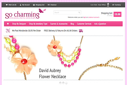 eCommerce Development - So Charming