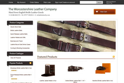 English Bridle Leather Belts, Quick Release Leather Belts, Leather Wallets & Gifts - Each product is handmade to order